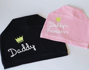 Fathers Day gift from Daughter Daddy and daughter hats Daddy and princess  Matching outfits Mens Gift Father daughter matching Father gift 6f34fa77143