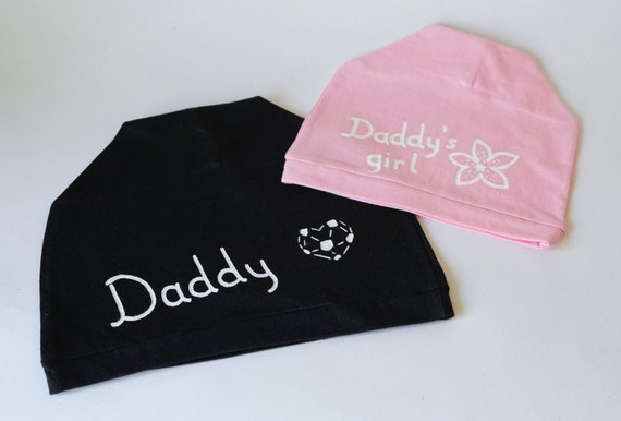 8f680fa3c7e Fathers Day gift Daddy daughter gifts Daddy and me beanie