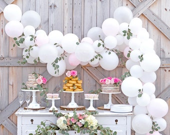 balloon garland balloon garland kit balloon arch wedding balloons neutral baby shower decor engagement balloons bridal shower decor