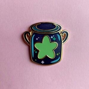 Kingdom Hearts Stitch Wayfinder Enamel Pin