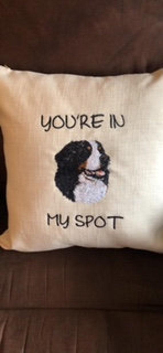 Bernese Mountain Dog Pillow Etsy