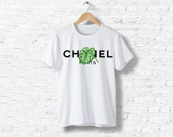 T-Shirt men women black or white Liberty Vintage Leef Gabrielle Coco Chanel inspired