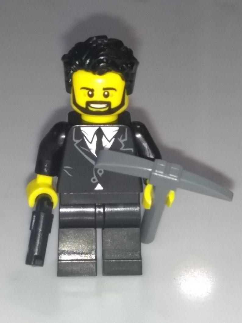 Lego Custom Inspired The Reaper Minifig Fortnite Battle Royale Etsy