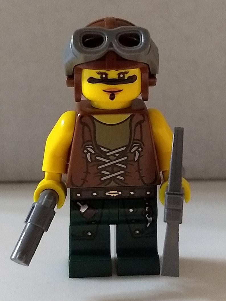 Lego Custom Inspired Renegade Raider Minifig Fortnite Battle Royale Pickaxe Minifigure