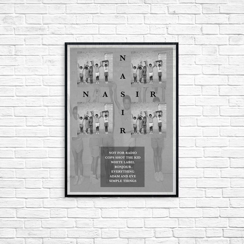 Nas Nasir Album Design Art Poster