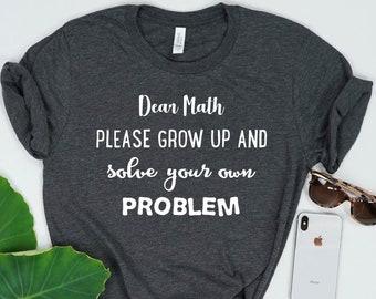 754e8409 Mathlete Shirt, Math Shirt For Teacher, Gift For Math Teacher, Math Nerd,  Math Geek, Math Lover Gift, Mathematician, Math Tee