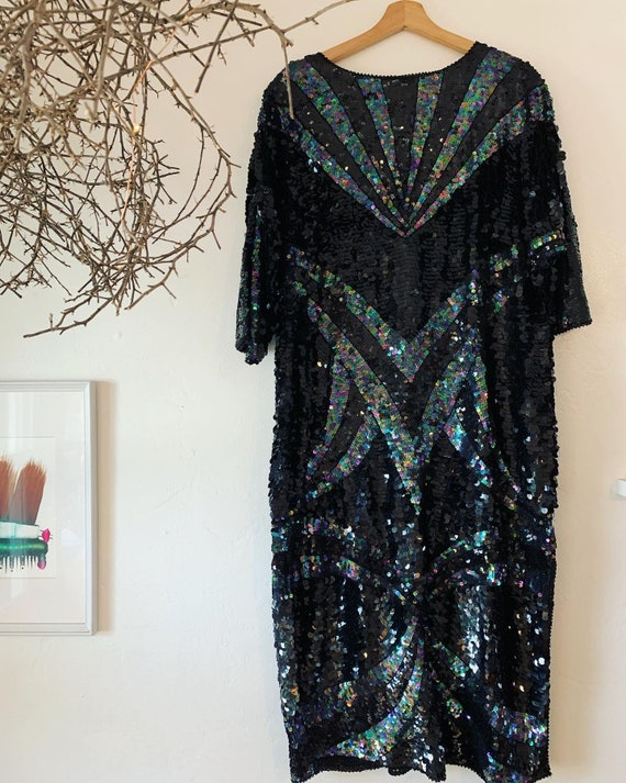 Deco Inspired sequin dress!