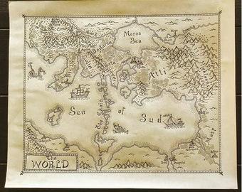 Custom Fantasy Map