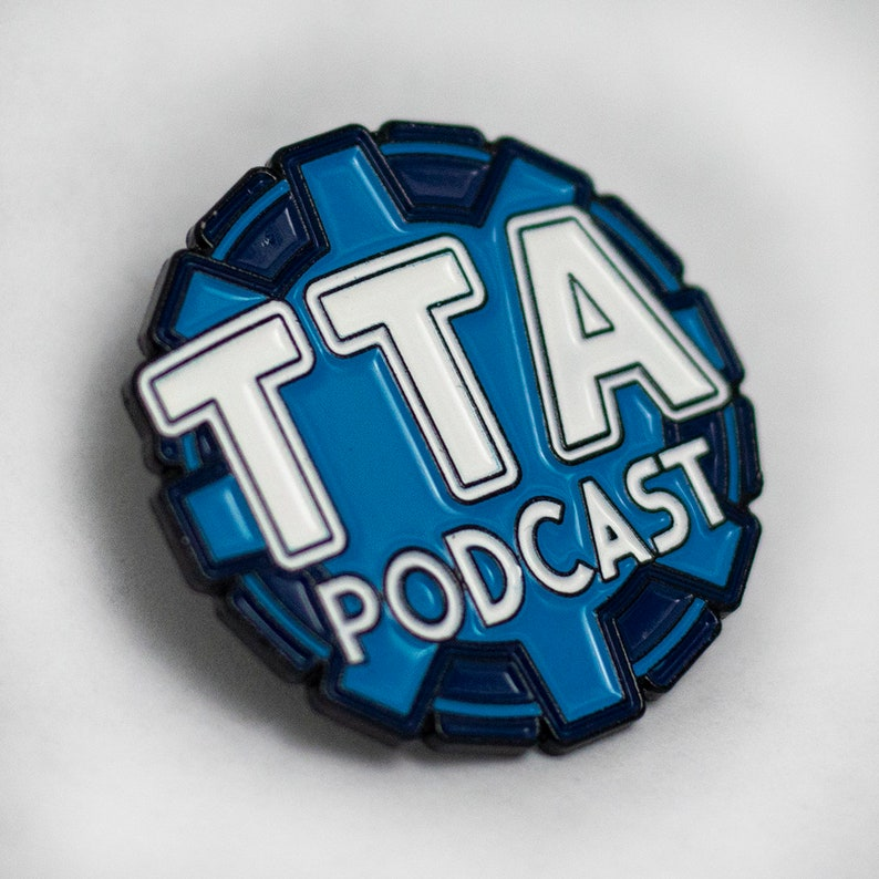 The TTA Podcast Logo Pin image 0