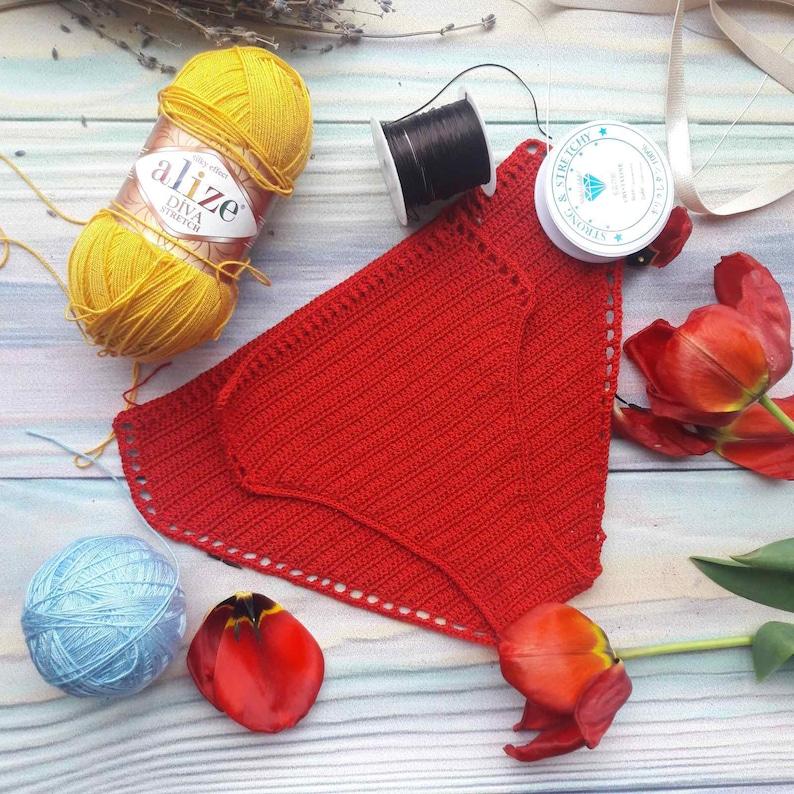 2 PDF files bikini pattern Panties with mesh on sides RUSSIAN crochet swimwear Retro Cheeky Bikini Tutorial How to crochet bikini ENGLISH