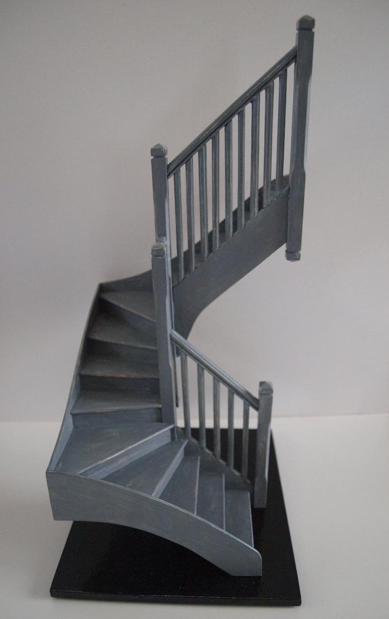 Stairs quarter turn miniature 1 / 12 th