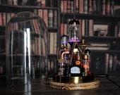 Steampunk lamp Benjamin/Industrial desk lamp/Steampunk art/Table lamp/Gifts/DIY lamp/Steampunk decor