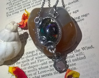 Butterfly Wing 'Love' Transformation Necklace
