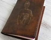 Passport Holder Engraved Personalized Passport Cover Leather Passport holder