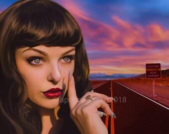Printable Download - Death Valley Fine Art Portrait