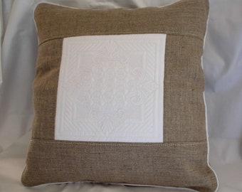 2 quilts linen cushion covers