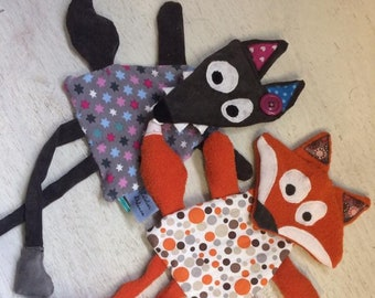 Soft toys to Exchange Fox or Wolf head