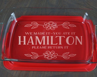 Personalized Pyrex Etsy