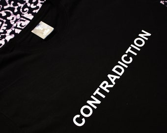 Contradiction Equality Self Love  Non-Binary (Unisex) Power T-Shirt