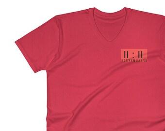 11:11 Synchronicity Red V-Neck T-Shirt