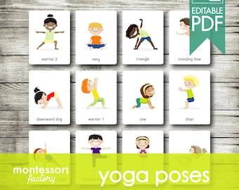 Kids Yoga Etsy