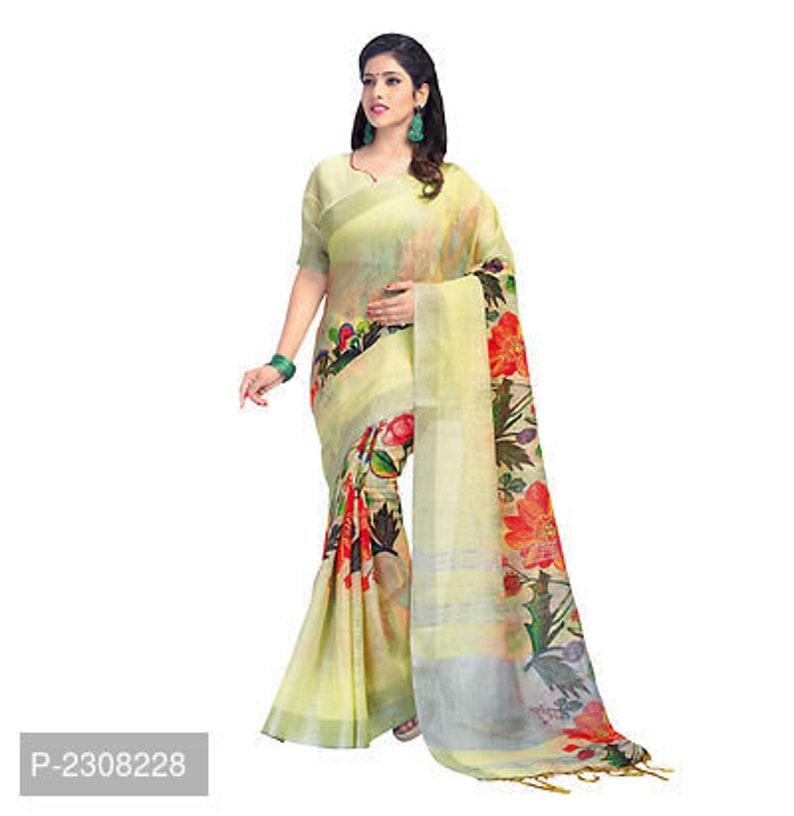 Women's Clothing Clothes, Shoes & Accessories Indian Women Bollywood Saree Linen Party Casual Wear Sari Blouse