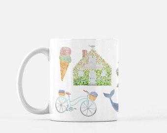 Nantucket Icons Mug