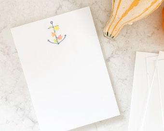 Autumn Anchor Notepad