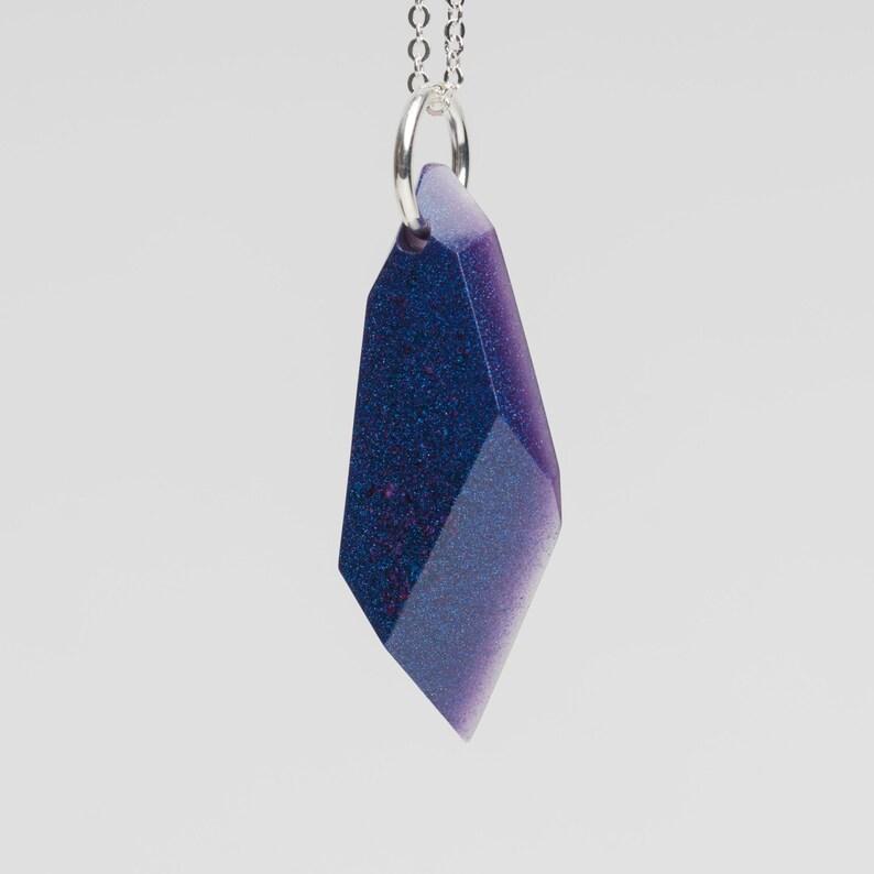 Long Stone necklace Nebula P8 image 0