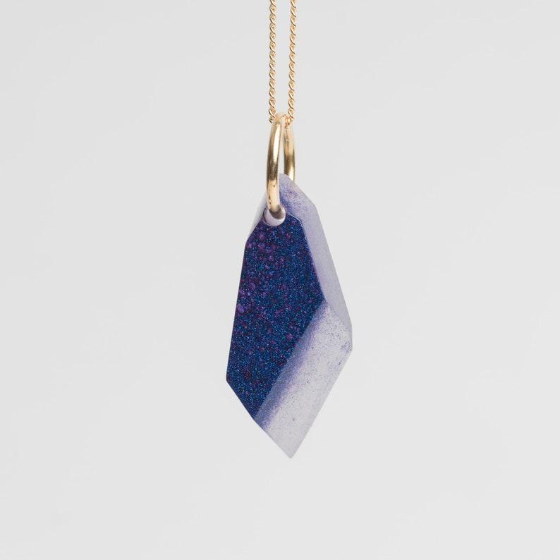 Stone necklace Nebula P26 image 0
