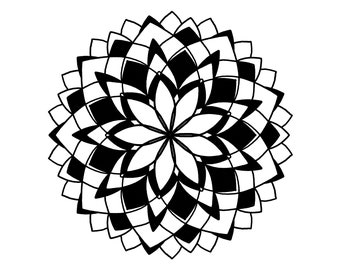 Flowered Out Mandala