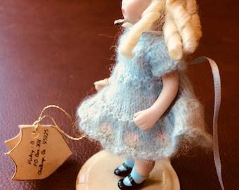 Porcelain blonde girl doll Tony Beth