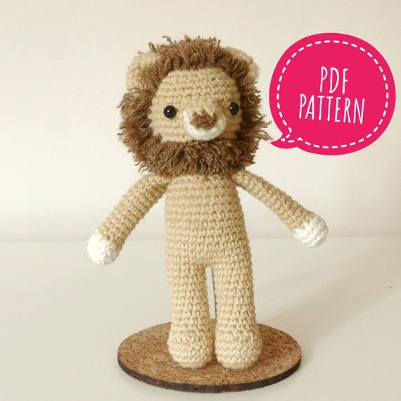 Crochet Lion Pattern Lion Amigurumi Pattern Baby Lion  113f8736ed5