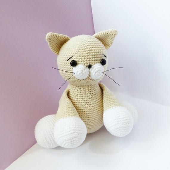 Amigurumi Cat Crochet Pattern | Supergurumi | 570x570