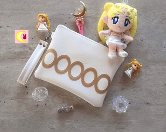 Evening pouch For the Princess inspiration Serenity inspiration Sailor Moon manga Serenity Neo Queen wedding wedding christening bag