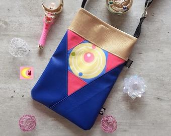 Small shoulder bag Makeover brooch manga Sailor Moon handmade handkerchief ichiban kuji official hand shoulder japan anime girl geek