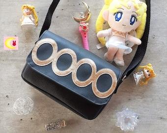 Small shoulder bag or shoulder strap For the Princess inspiration Serenity Neo Queen Serenity Sailor Moon manga Naoko Takeuchi chic rock