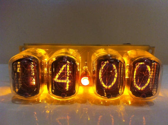nixie tube clock IN 12, nixie tube clock kit, nixie clock, tube clock,  pixie tube clock, nixie tube clock kit, vacuum tube clock