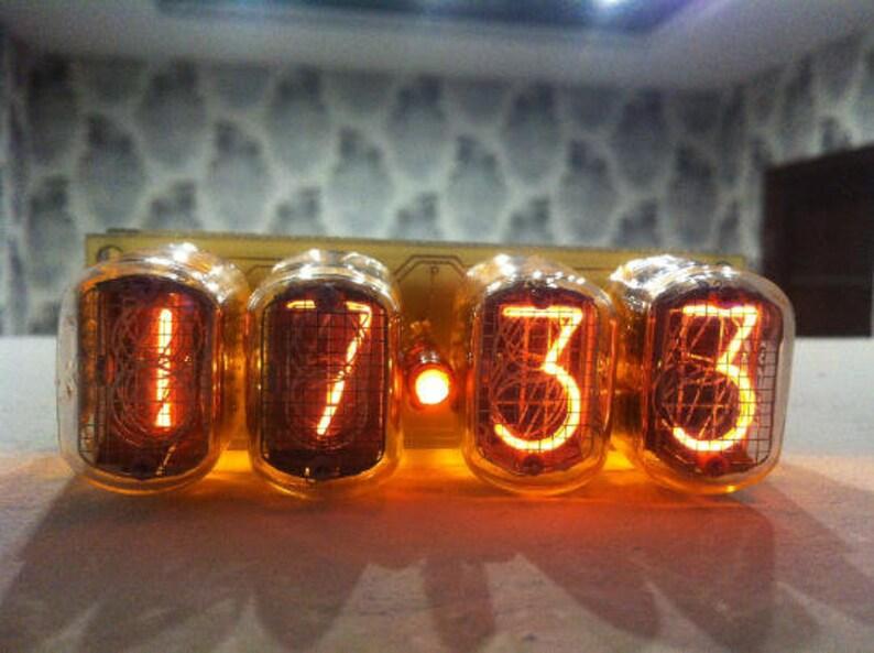 Nixie tube clock IN-12, nixie clock, tube clock, nixie tube clock, nixie  tube clock kit,nixie tube clock diy, vacuum tube clock