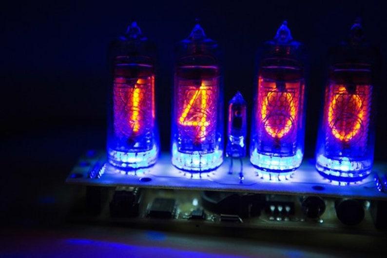 nixie tube clock in 14, nixie clock, tube clock, pixie tube clock, nixie  tube clock kit,nixie tube clock diy, vacuum tube clock