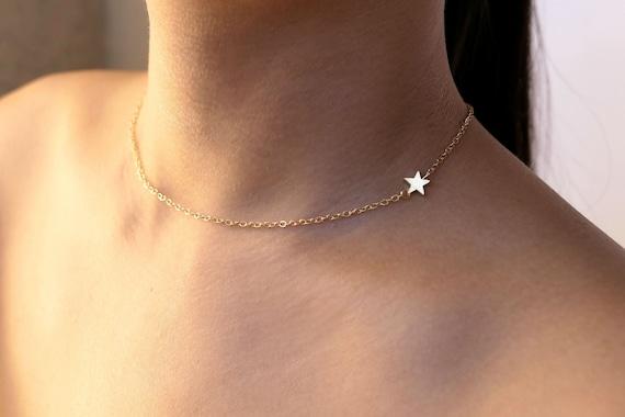collier ras de cou star