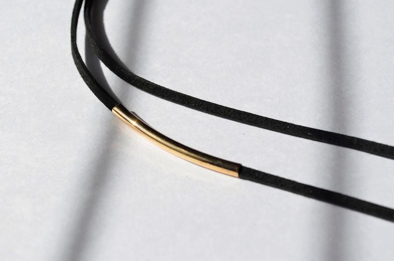 gold bar leather choker  gold bar choker  black velvet choker  black choker necklace  gold bar choker necklace  velvet choker  velvet