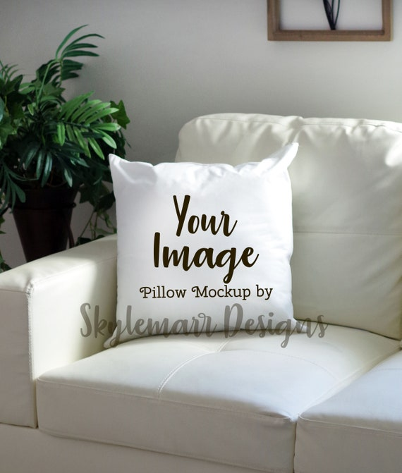 Brilliant Square White Pillow Mockup Blank Pillow Mock Up Modern Living Room Pillow On Couch Mockup Sofa Pillow Mockup Commercial License Andrewgaddart Wooden Chair Designs For Living Room Andrewgaddartcom