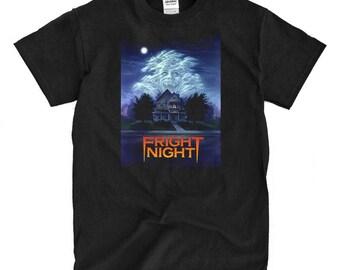 Fright Night - Black T-shirt