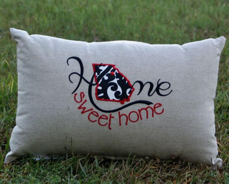 Georgia Home Sweet Home Pillow image 0