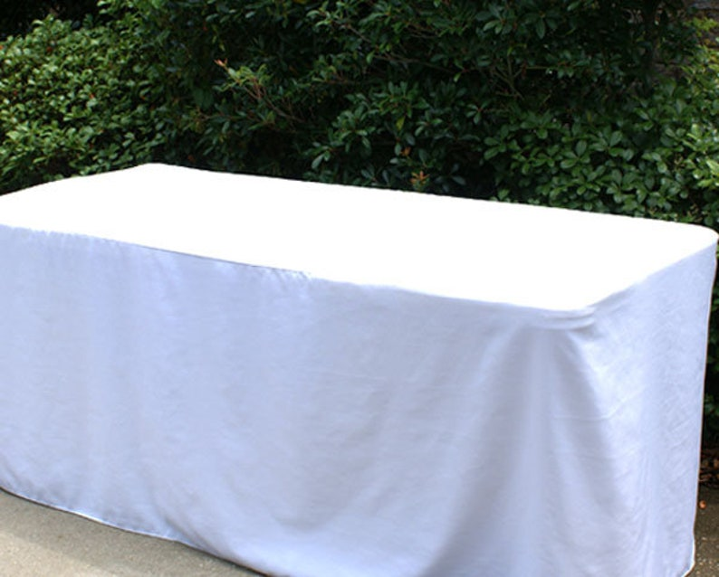 6 ft Fitted Tablecover image 0