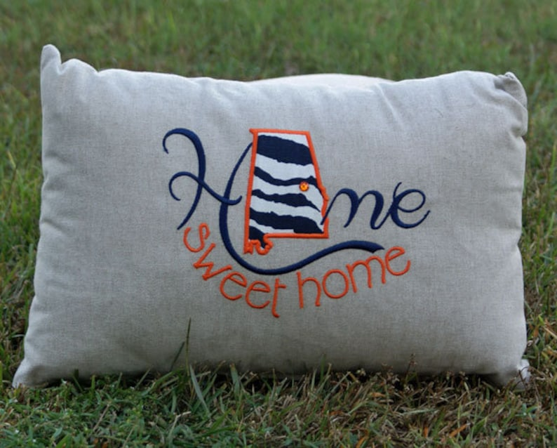 Alabama Home Sweet Home Pillow image 0