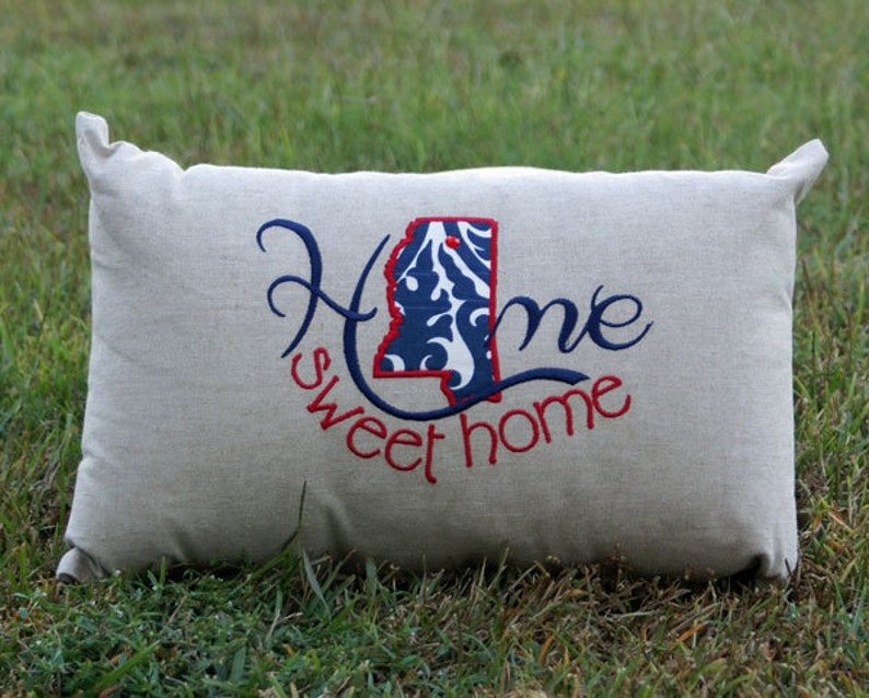 Mississippi Home Sweet Home Pillow image 0