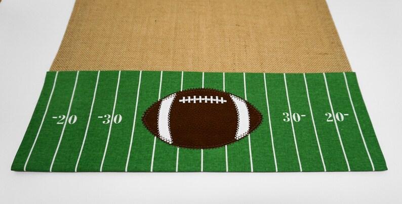 Table Runner Football Table Runner Gameday Runner image 0