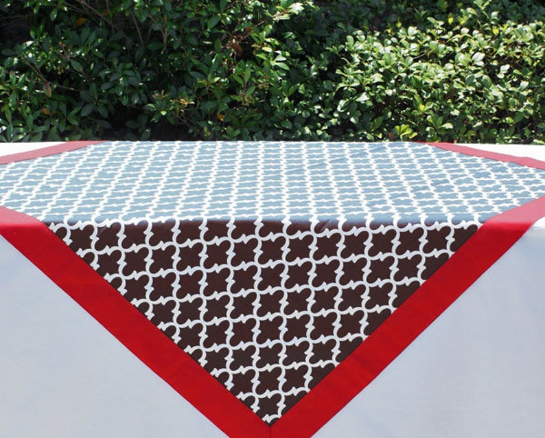 Black Tailgating Tablecloth Gameday tablecloth tailgating image 0